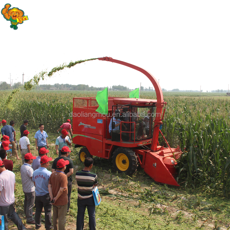 Agriculture corn silage machinery silage cutter for animal feed