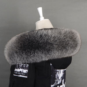 ALICEFUR 도매 supply custom design real fox fur hood trim
