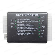 Computer PC Power Supply Tester 20/24 pin PSU ATX SATA HDD Meter Tester