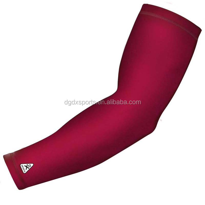 Custom sublimated Spandex Arm Sleeve, cycling arm sleeve UV Protection OEM Service