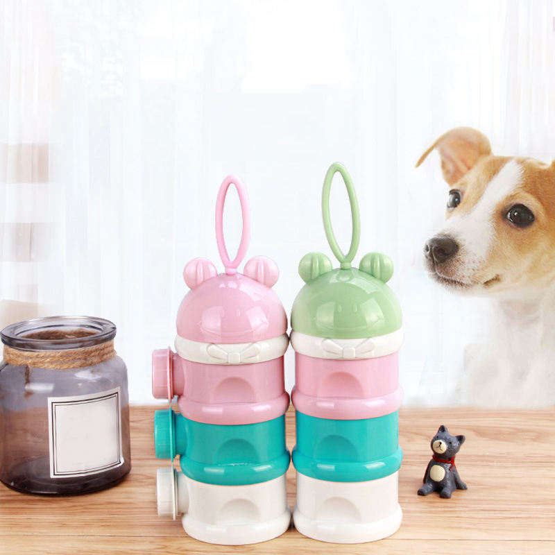 Wholesale Custom New Design Portable Foldable Pet Feeder Outdoor Travel Pet Treat Bag