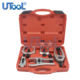 5pcs Front Service Tool Kit Ball Joint Separator Pitman Arm Tie Rod Puller Undercar Tool Set Auto Repair Equipment