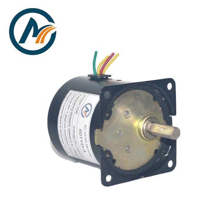 60KTYZ Synchroner Getriebemotor AC 220V 14W Hohem Drehmoment 2.5 ~ 110RPM 50Hz