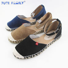 Fashion Fake Pig Skin Espadrilles in china Slip on womens Loafers Ladies espadrilles platform