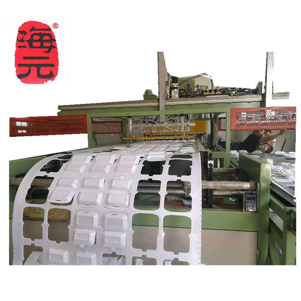 Low price foam dish /tray making machine ps foam plate production line