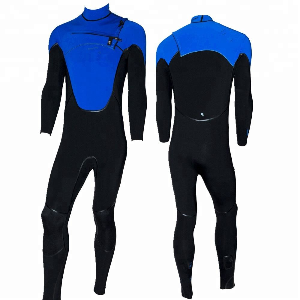 Hight Quality Blind and Taped Seam Men's Full Body Wetsuit with Chest Zipper