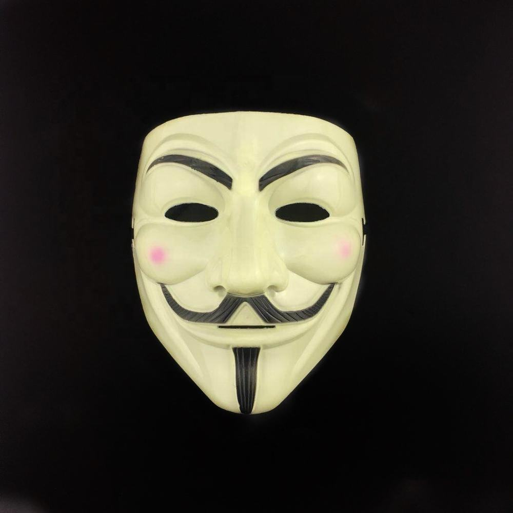 Handmade anonymous V for vendetta masquerade mask for carnival party