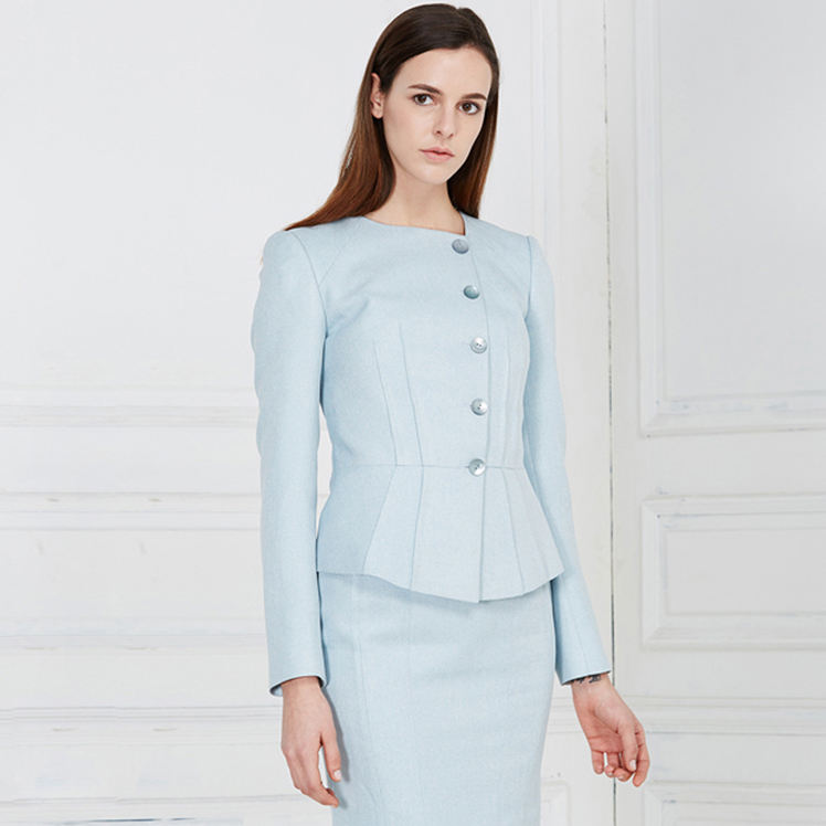China Making Ladies Coat Suit Designs For Womans Skirt Suits