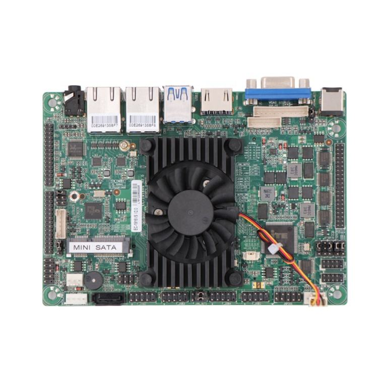 ECSUU EE-1916VS Intel J1900 quad core dual lan mini scheda madre del pc sata3.0 barebone server linux embedded board con slot per sim