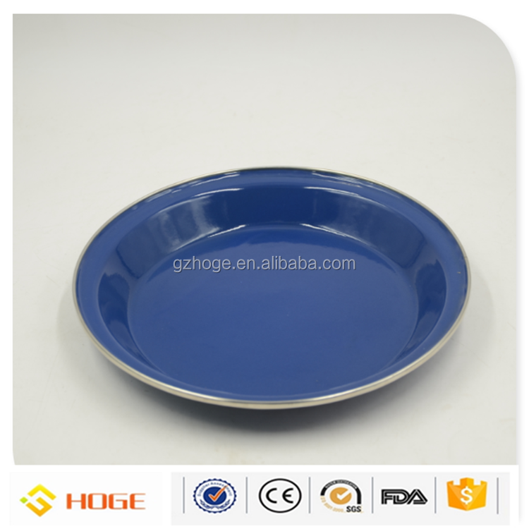 High Quality Cheap Enamelware Promotion Enamel Dinner Set, Serving Plate, Drink Mug, Soup Bowl