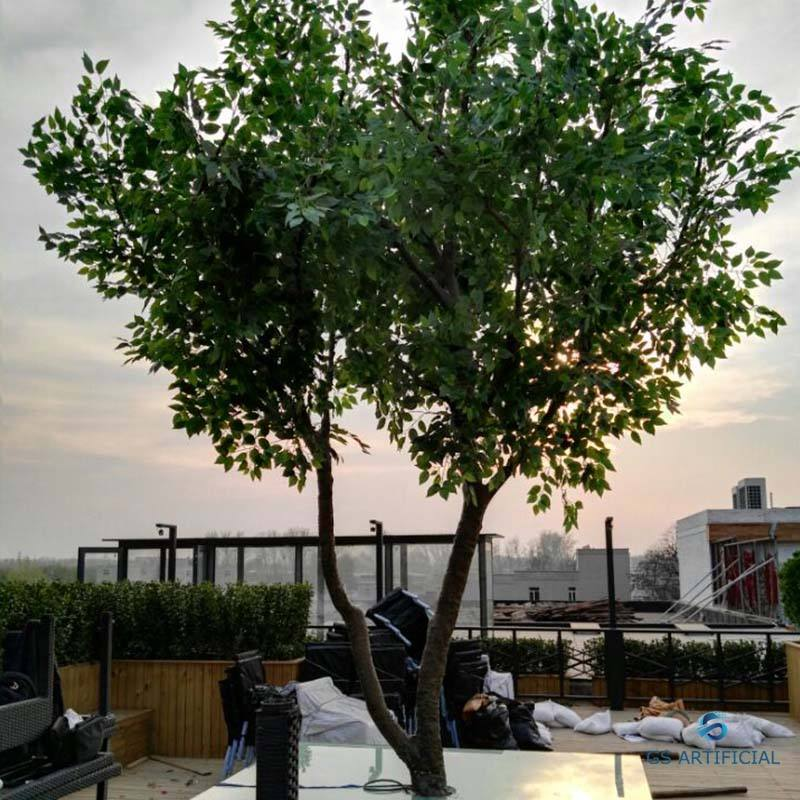 Cheap Big Artificial Banyan Decorative Tree Large Outdoor Artificial Trees For Sale