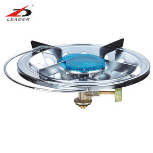 CE approved durable easy install camping wok gas cooker stove, table top china single burner mini LPG gas stove