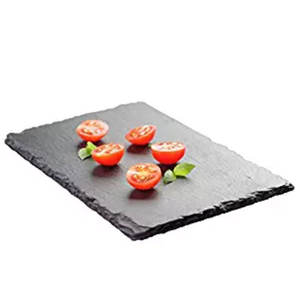Xingzi Cheese Stone Uses Of Show Dinner Food Served Dishes Natural Eco-friendly Slate Plate For Picnic
