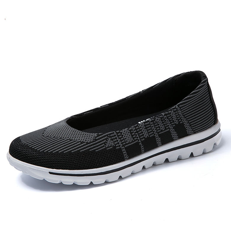 Factory direct price latest fashion cheap shoes for women textile cheap casual shoes