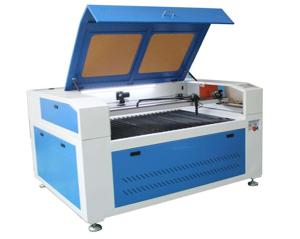 dual head fabric CO2 laser engraving cutting machine XM-1390 with CE ISO9000