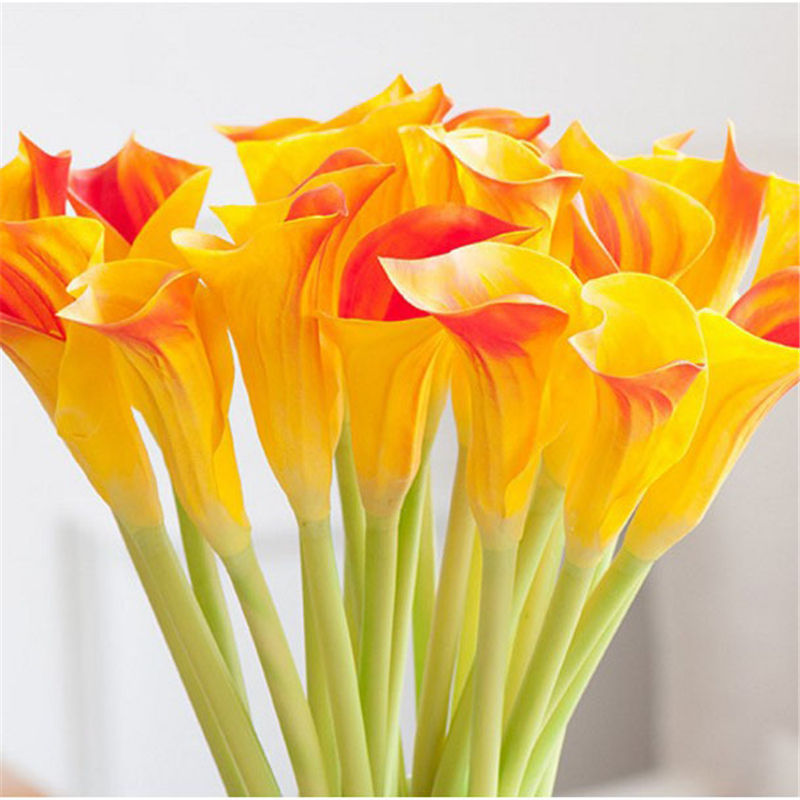 high quality artificial calla lily flowers bouquet