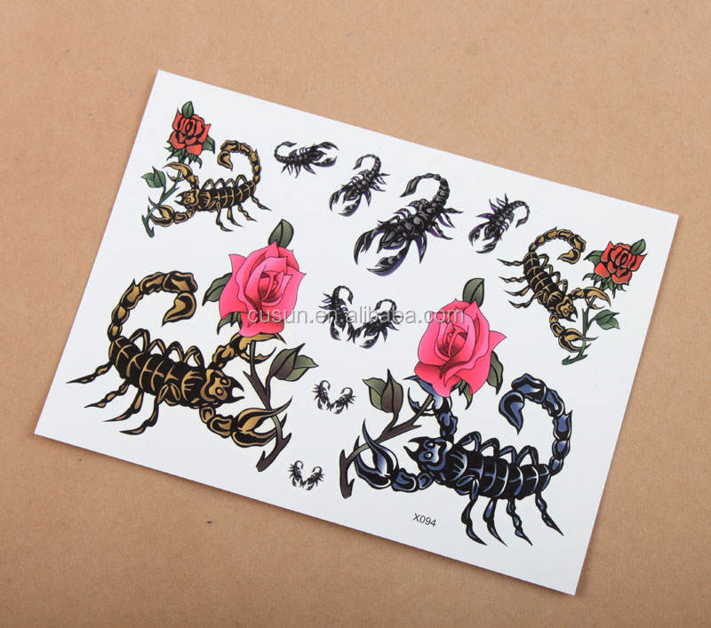 BSCI Low Price water transfer paper temporary tattoo paper inkjet sexy body tattoo sticker