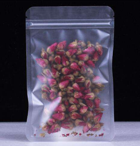 Self Ziplock Transparent Frosted Baked Snack Vacuum Bags