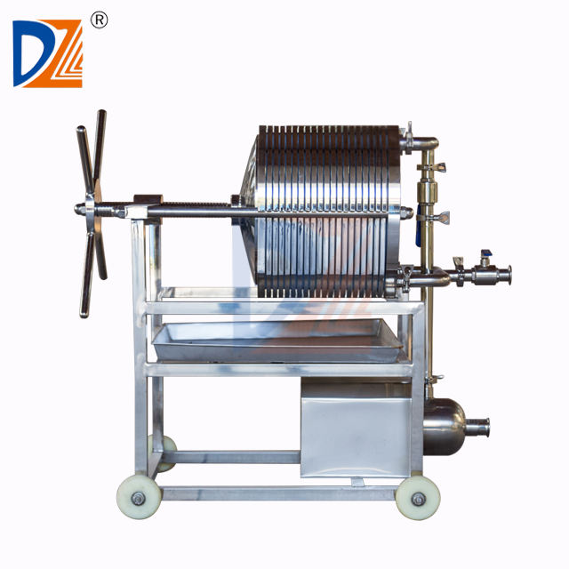 S.S.Manual Wine Filter Press Machine For Edible Oil