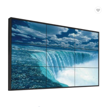 55 pollici 3x3 frameless monitor lcd video wall