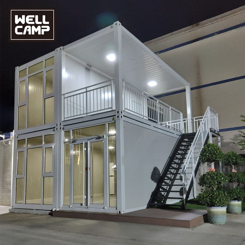 Portable Shelter Modulos Container Movable Prefabricated Croatia Flat Pack Container House hotel /office building