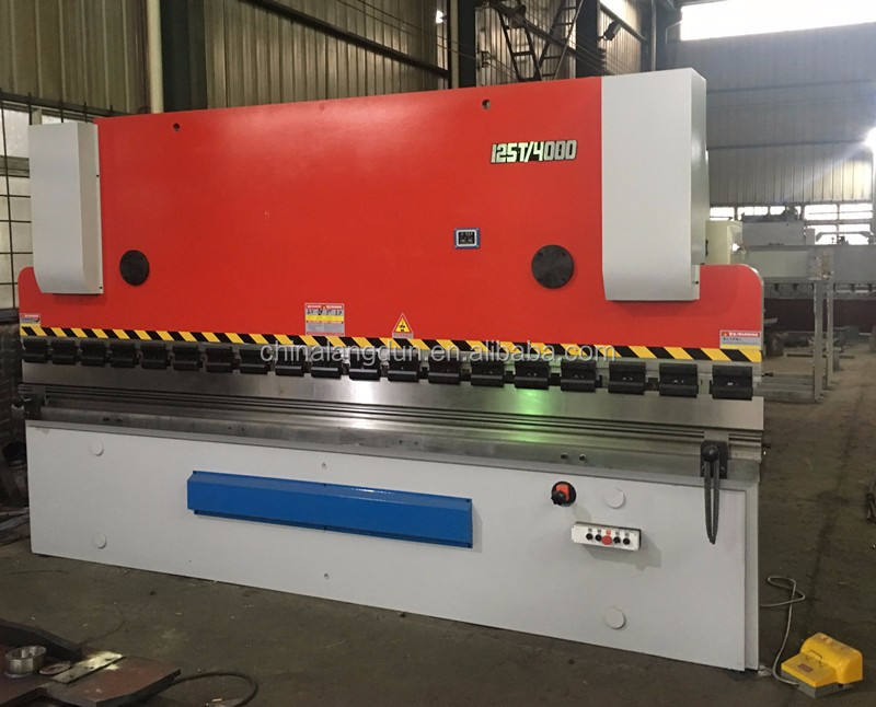 Automatic Series new press brake for steel metal working used WC67Y hydraulic cnc press brake hot sale