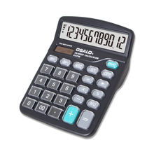 High quality calculator 12 digits durable crystal button office desktop table cheap calculator