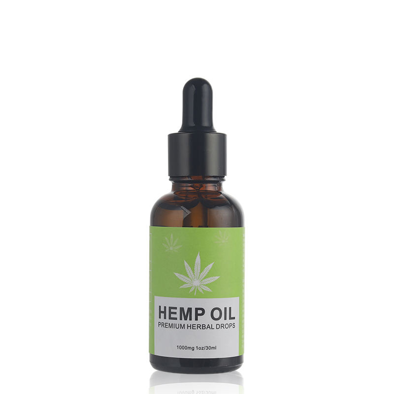 Hot selling 100% natual cbd hemp oil for pain and for food