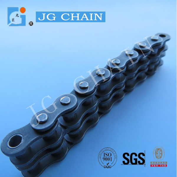 China calidad fabricado muestra gratis agrícola cadena de rodillos para rotovator doble strand 08B motocultor cadena