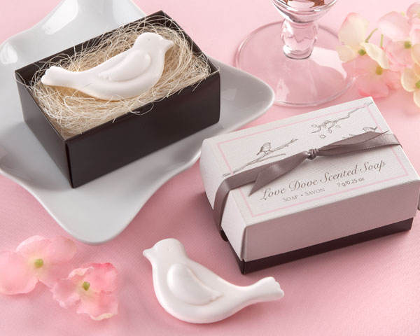 Wedding Favors Scented Love Dove Soap