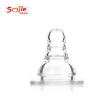 New Baby Products safe Transparent silicone realistic nipples