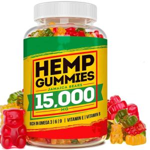 15000mg CO2 extract Bears shape Hemp CBD Gummy candy