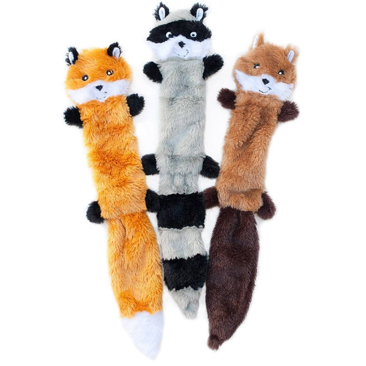 ZYZpet No Stuffing Suppliers Chew Interactive Pet Plush Toy Dog Squeaky Toys