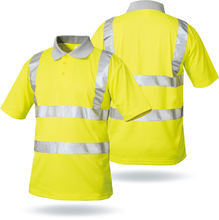 High visibility reflective tape for the safety polo shirts,Hi vis free sample