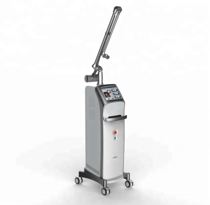 RF metal tube laser co2 fractional / fractional co2 laser vaginal tightening machine