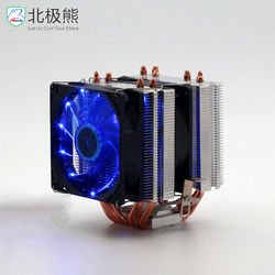 New products two towers desktop CPU Cooler with 6 Heat-pipes