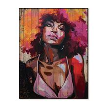 canvas painting abstract African portrait paintings wall art canvas print picture painting decor no frame