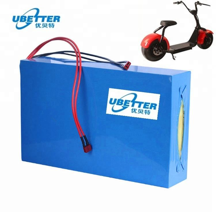 Customized Li-ion Rechargeable 60v 20ah Car Battery For Harley Car Electric Scooter