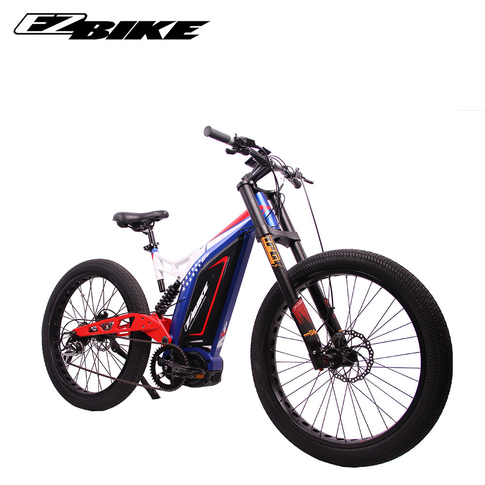 New model 48v 1000w mid motor mountain electric electronic bicycle e bike with en 15194