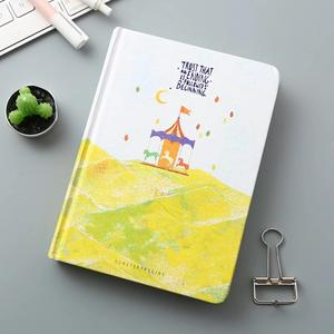 Colorful hard cover journal notebook diary cute paper notebook with thick inner page