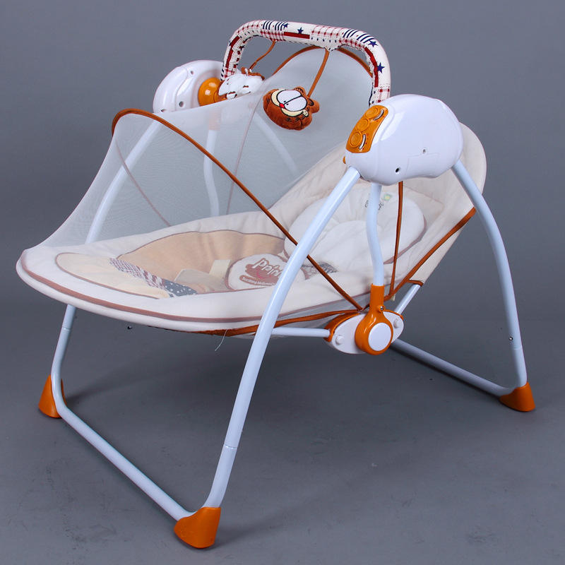 2018Primi Electric rocking Baby Cradle Swing Bed To Sleep