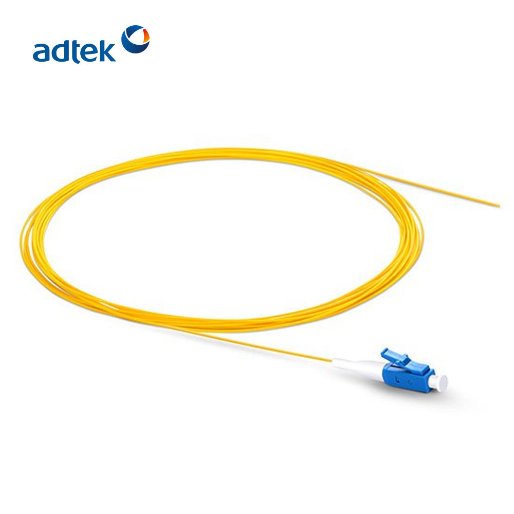 FTTH Solusi LC/UPC Single Mode Simplex Pigtail Kabel Jumper
