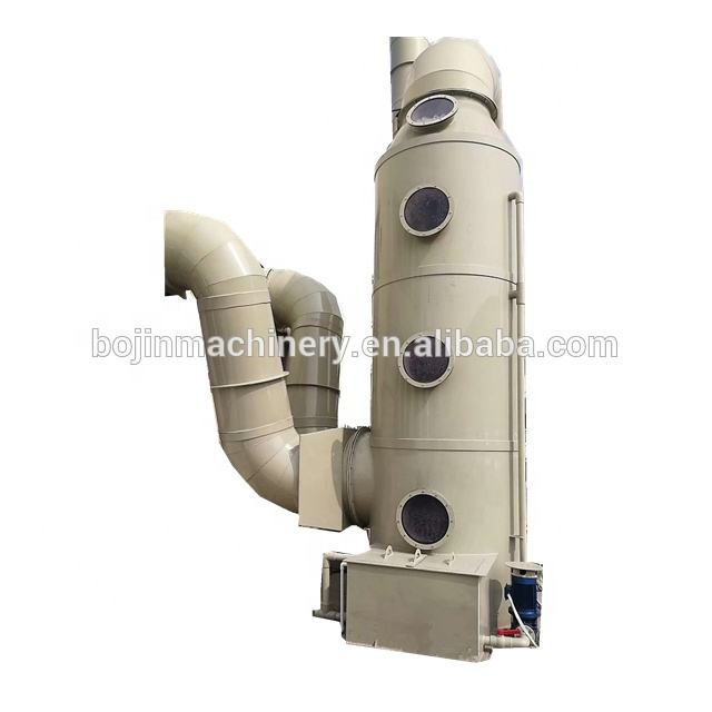 Industry Waste Gas Disposal And Pre--filtration Tower Wet Gas Scrubber