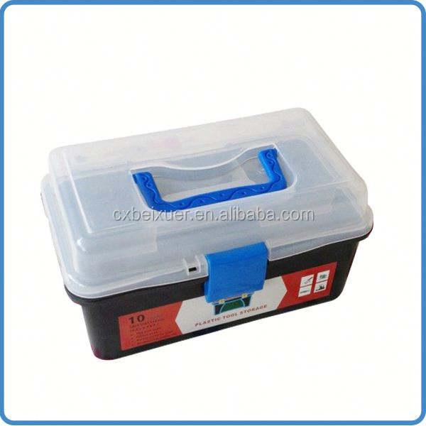 Ningbo all'ingrosso di alta qualità a buon mercato cassette degli attrezzi proto cassa di attrezzo di plastica