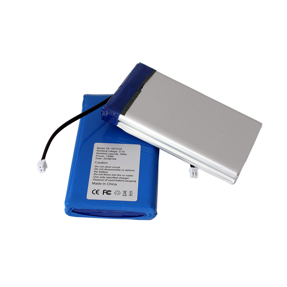 China hersteller oem 3.7v pl803446 1400 mah lithium Polymer/lipo/li-ion-polymer-akku für portable power bank