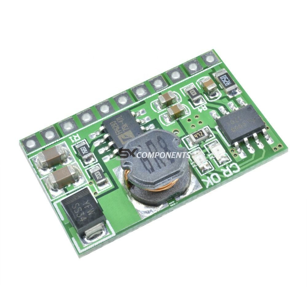 5V 2.1A Out Mobile Power Board Charger Step Up DC DC Boost Module ups pcb circuit board For 3.7V 18650 Lithium Battery