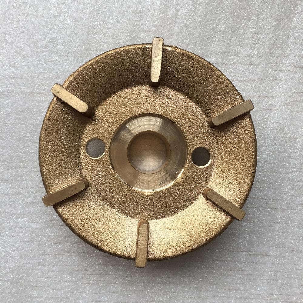 Chaud forgé et usiné en <span class=keywords><strong>laiton</strong></span> pièces de roue selon les spécifications du client
