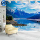2020 Damask bedroom nature wallpaper 8d effect wall mural silk cloth good feeling wall paper