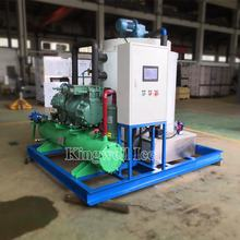 Dry flake ice 10 tons/24h salt water flake ice machine for seafood market