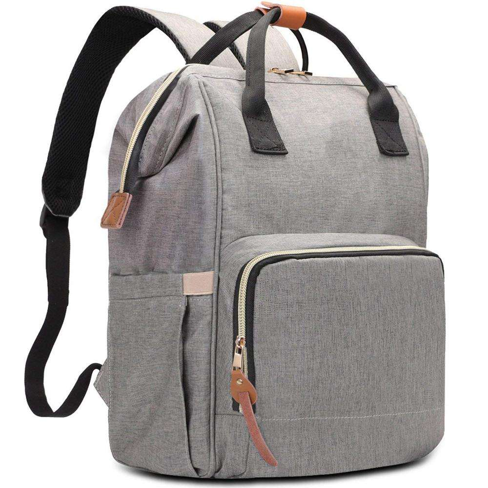 Insular 미라 Bag Multi-Functional 휴대용 Travel Backpack Baby 기저귀 백 땅 기저귀